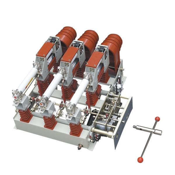 FZN25、FZRN25型真空負荷開(kai)關和組合電器,適(shi)用于三(san)相交流50Hz環(huan)網(wang)或終端供電和工業用電設備中,作負荷控制和短(duan)路保護之用,負荷開(kai)關分(fen)合負荷、閉環(huan)電流、空…